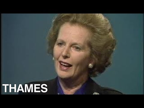 Margaret Thatcher | The Miners Strike | British Economy | TV Eye | 1985