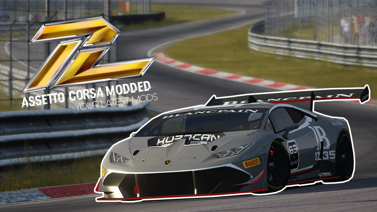 assetto corsa lamborghini huracan gt3 download youtube. Black Bedroom Furniture Sets. Home Design Ideas