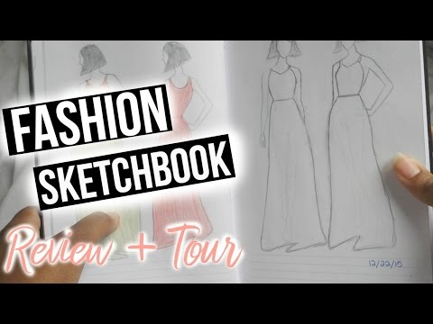 fashion-design-sketch-book-review-&-tour-|-fashion-sketchbook