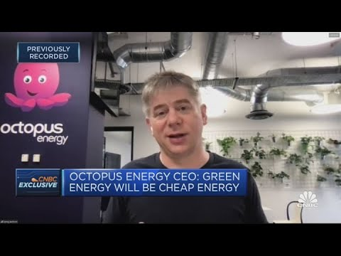 Renewables are increasingly becoming the norm, Octopus Energy CEO says