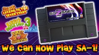 SD2SNES Can Now Play SA-1 Special Chip SNES Games! Super Mario RPG & More!