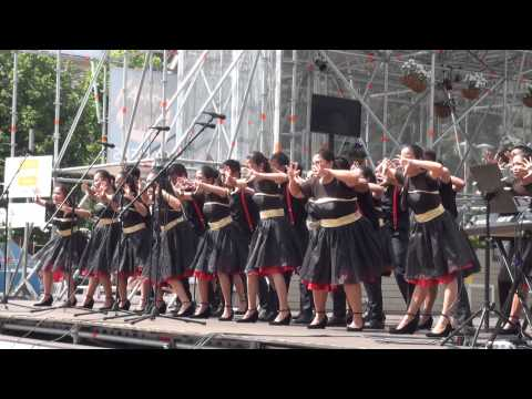 World Choir games 2014. Riga. Esplanāde. Iriga City Singing Ambassadors (16.07.2014 no 12.00)