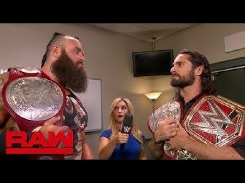 WWE Raw 26/8/19 Review Braun Strowman CHALLANGES Seth Rollins For The UNIVERSAL Title