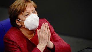 Merkel mahnt zu rascher Verabschiedung der Corona-Notbremse