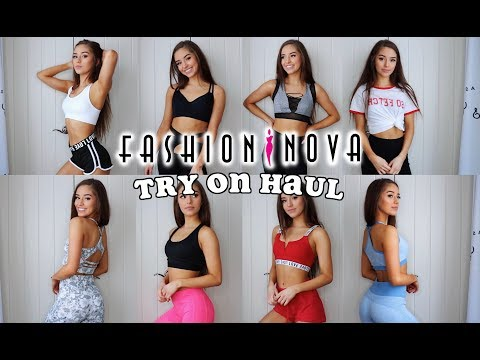 FASHION NOVA TRY-ON HAUL | ACTIVEWEAR REVIEW