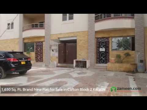 FLAT AVAILABLE FOR SALE IN CLIFTON  BLOCK 3 KARACHI