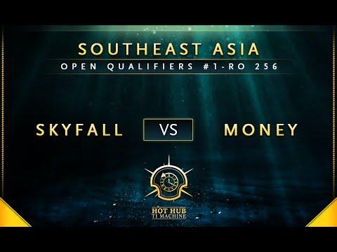 Skyfall vs Money - The International 7: Open Qualifiers #1 SEA: Round of 256 - @Xyclopzz