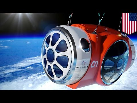 Space tourism : helium balloon will take passengers to the edge of space for $75,000 - TomoNews