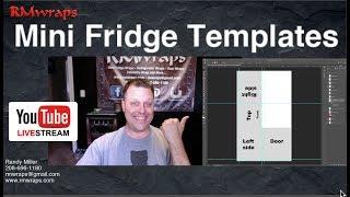 Mini fridge templates for  - Rm wraps 2018