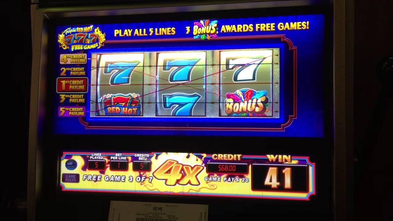 Free Slot Red 7