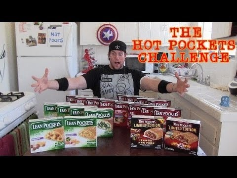 The Hot Pockets Challenge | 20 Flavors- 6,000 Calories
