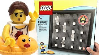 LEGO Minifigures Collector Frame review! 2018 set 5005359!