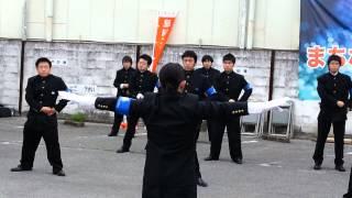 足利工業大学全学応援団2(2014.4.29)