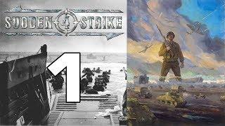 """Прохождение Sudden Strike 4 #1 - Нормандская операция: """"День Д"""", плацдарм """"Юта"""" [Союзники]"""