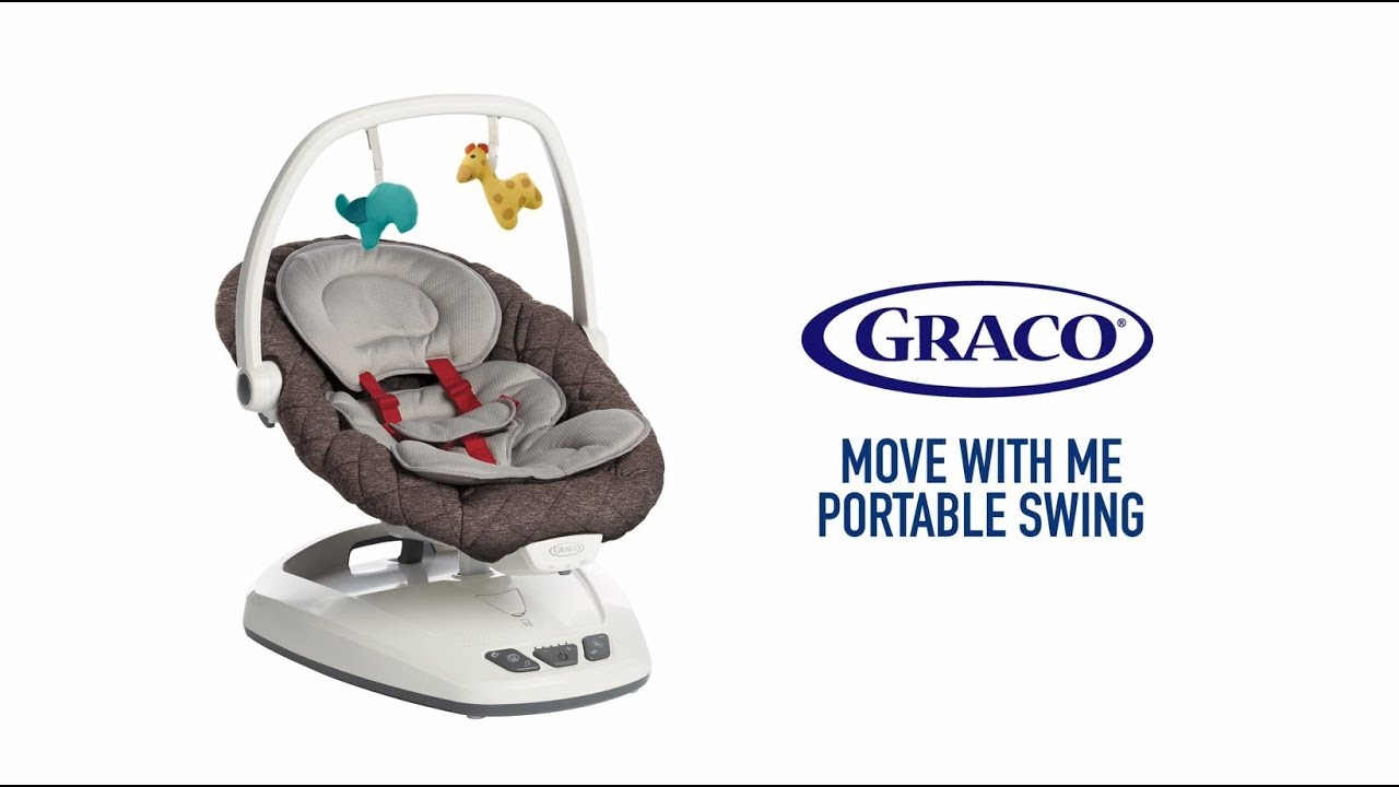 Graco Move With Me Swing And Soothe Everywhere You Move