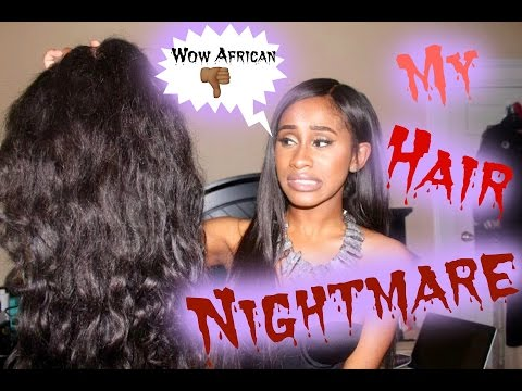 Hair| WowAfrican Review: Horror Story | Nae and Nea