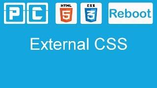HTML5 and CSS3 beginners tutorial 12 - External style sheet