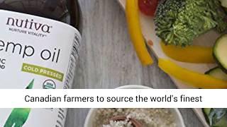 Nutiva Organic- Cold Pressed- Unrefined Hemp Seed Oil from non GMO-Sustainably Farmed Canadian Hemp