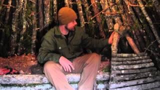 Pimping Your Survival Shelter Part 2- Custom Firepit