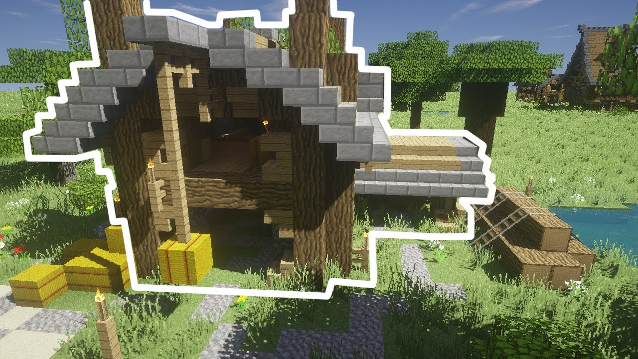 Minecraft - How To Build: Medieval Barn - YouTube for Medieval Barn Minecraft  51ane