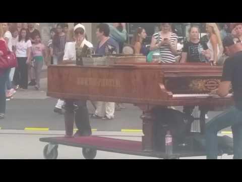 The Pianist.nl Frankfurt Zeil 28.07.2016