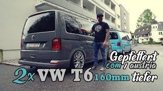 2x VW T6 160mm TIEFER by Gepfeffert.com HQ & Gepfeffert.austria