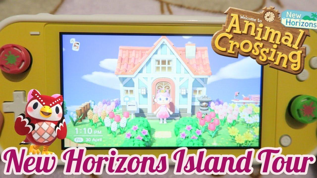 UPDATED ANIMAL CROSSING NEW HORIZONS ISLAND TOUR // Kawaiikaty