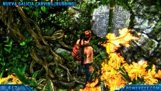 Uncharted Golden Abyss - All Treasure Locations - Chapter 3