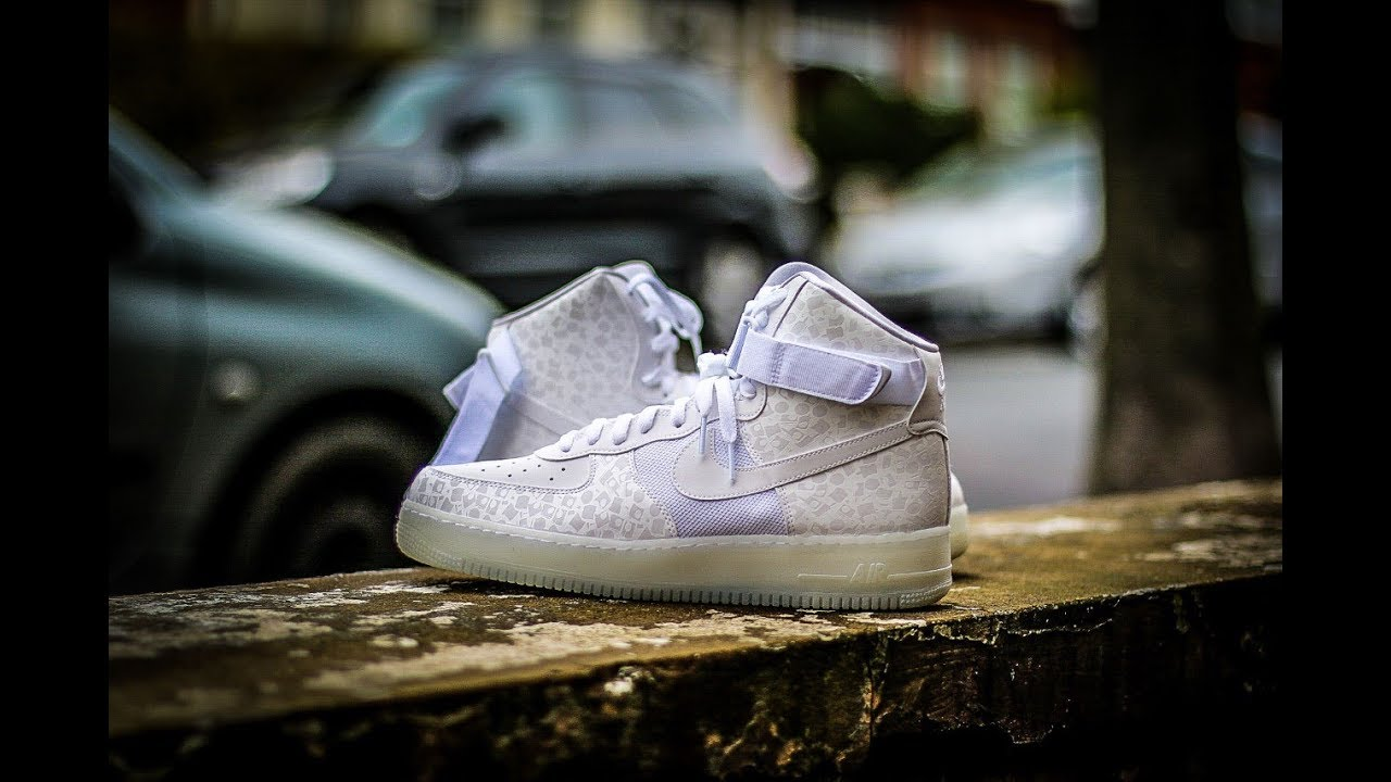 a1526fbf6578 4 Days of AF100 - Stash Air Force 1 High - Complex Con exclusive 1 of 93  pairs - Schopes