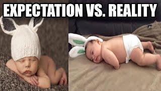 Hilarious Pinterest Baby Photoshoot Fails