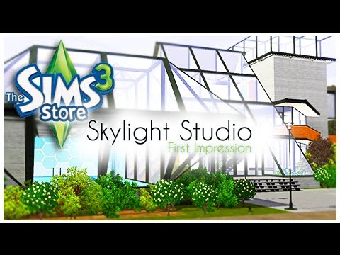 the sims 3 store skylight studio set review first impression