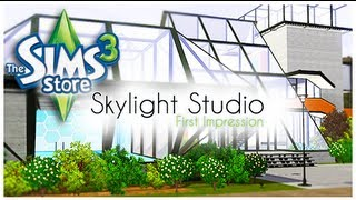 The Sims 3 Store: Skylight Studio Set - Review/First Impression.