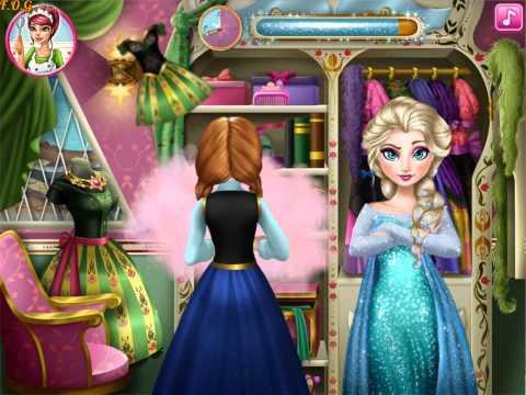 Frozen Fashion Rivals (Холодное сердце: Анна и Эльза модные конкуренты) - прохождение игры