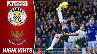 St. Mirren 2-0 St. Johnstone | Stunning Obika Bicycle Kick ends Goal Drought | Ladbrokes Premiership