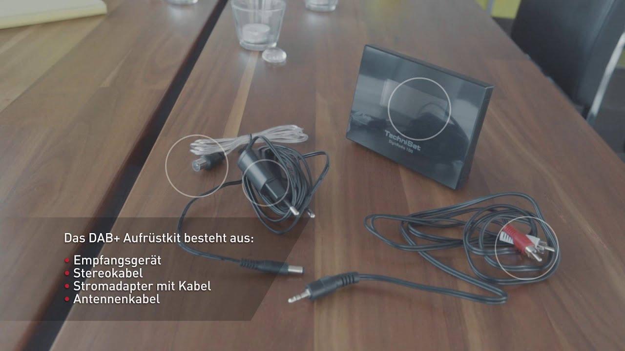 hifi anlage mit dab nachr sten youtube. Black Bedroom Furniture Sets. Home Design Ideas