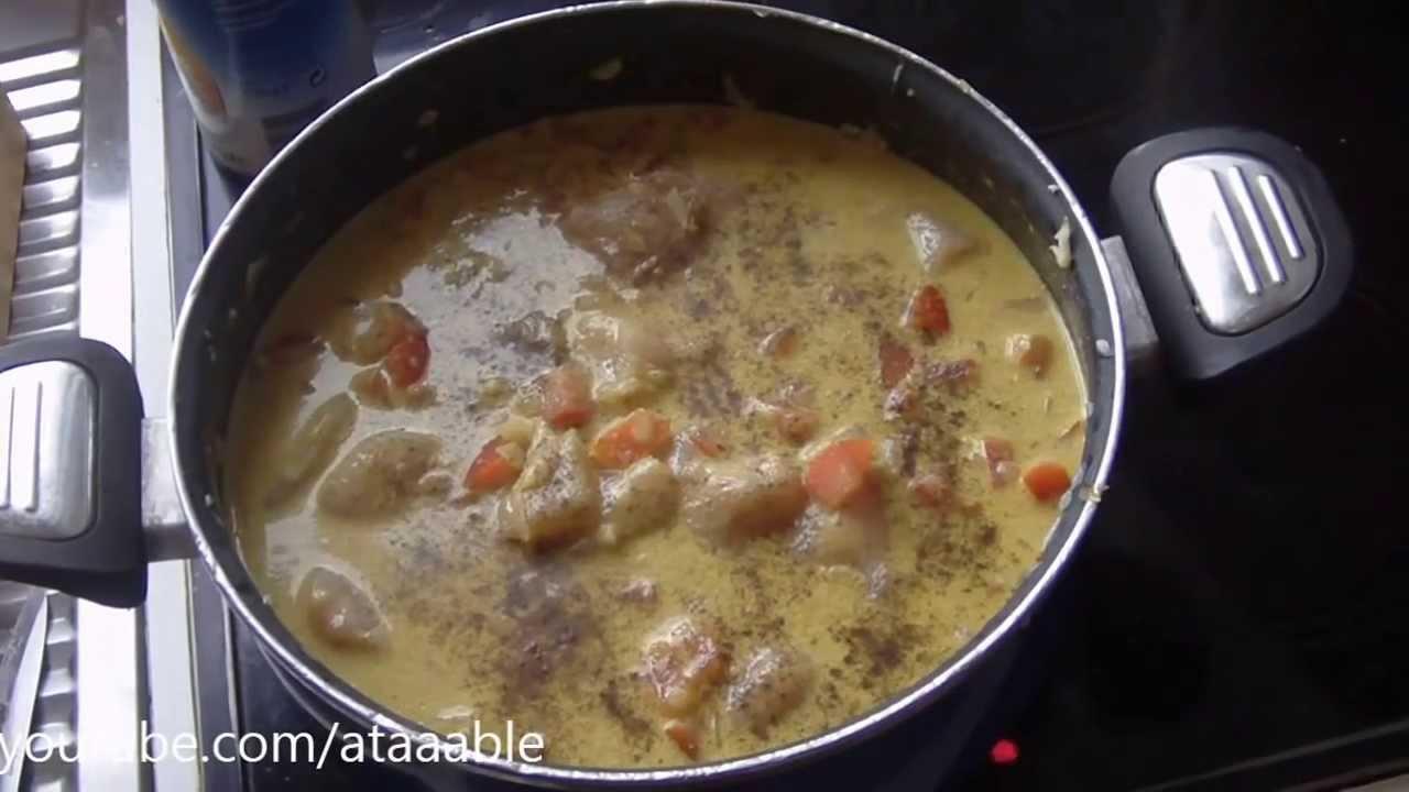 Poulet Curry Et Lait De Coco Youtube