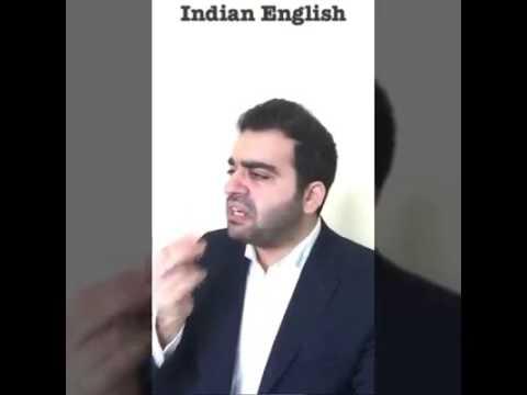 Indian, Egyptian, Lebanese... Etc Speak English