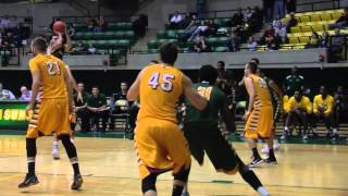 Tech Men's Basketball vs  Northern State Highlights 11/13/15