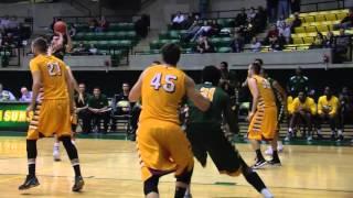 Tech Men's Basketball vs  Northern State Highlights 11/13/15