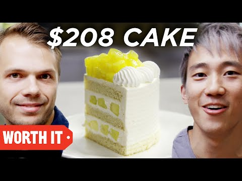 Thumbnail: $7 Cake Vs. $208 Cake • Japan