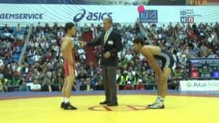 LEBEDEV Victor (RUS) -- ASGAROV Toghrul (AZE)  Finale 1-2