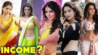 Tollywood Actress Salary - 21 Highest Paid Tollywood Actress | South Indian Actress Income Per Film