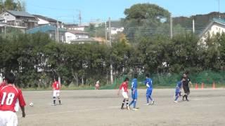 愛川東中サッカー部 2014前半