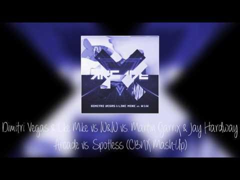 Dimitri Vegas & Like Mike vs W&W vs. Martin Garrix & Jay Hardway - Arcade vs. Spotless
