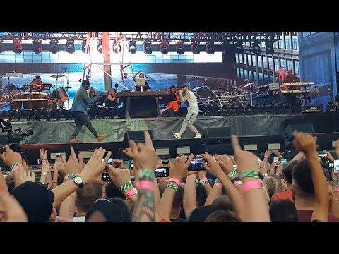 50 Cent - In Da Club, Crack A Bottle @ Eminem Revival Live Tour Twickenham Stadium - 15th July 2018