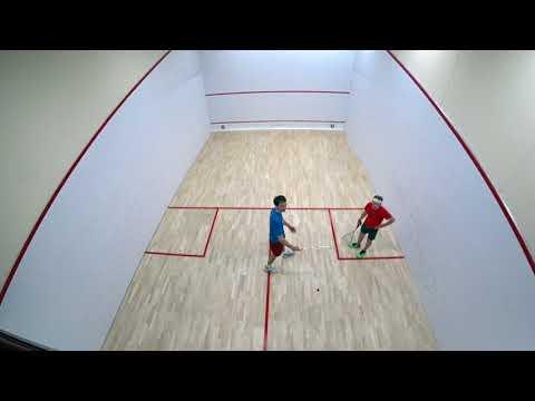 Woodruff Nee Squash Tournament 2018 - Peter Boal vs. Benjamin Smith