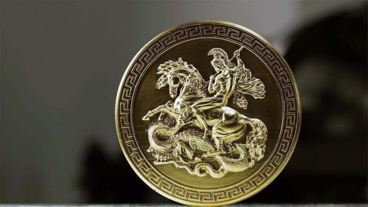 Cnc engraving on brass