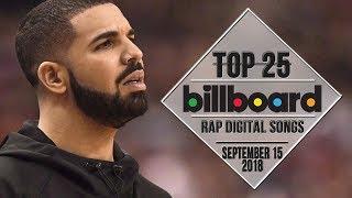 Top 25 • Billboard Rap Songs • September 15, 2018   Download-Charts