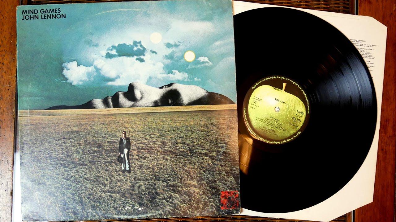 John Lennon Mind Games 1973 Vinyl Album Unboxing Youtube