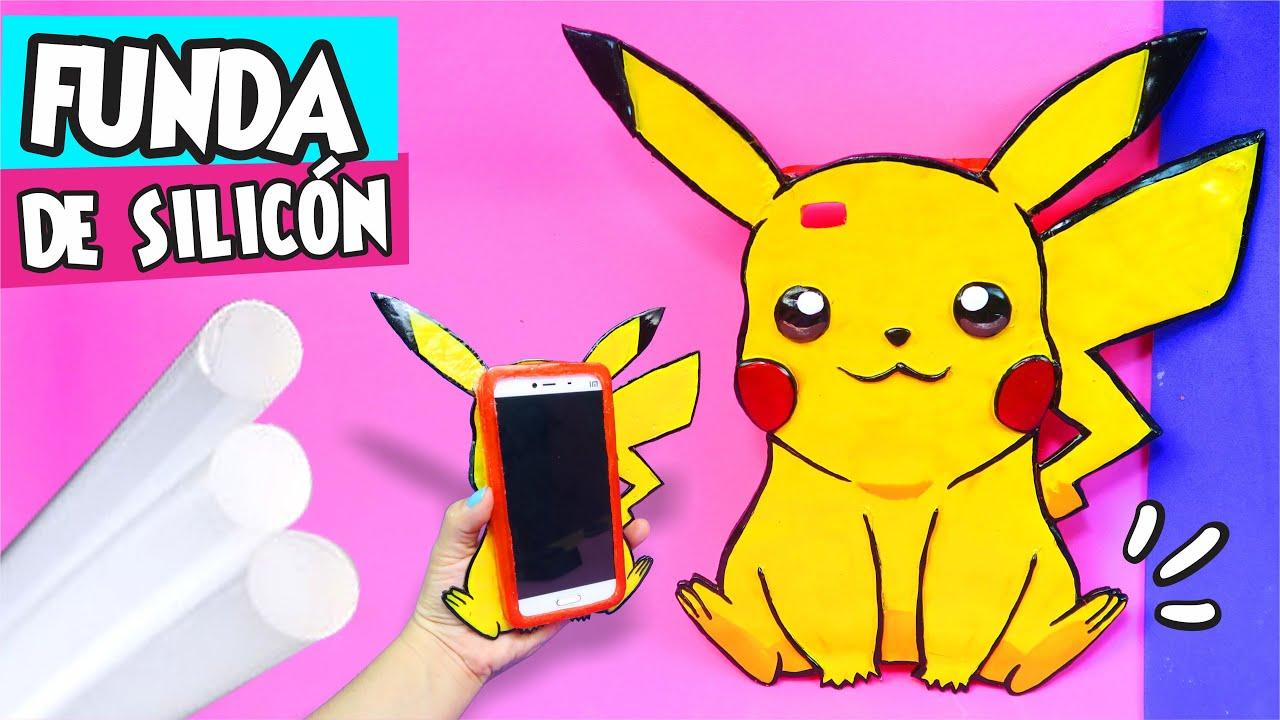 Funda de pikachu de silic n caliente as o m s f cil diy - Como hacer fundas de silicon ...